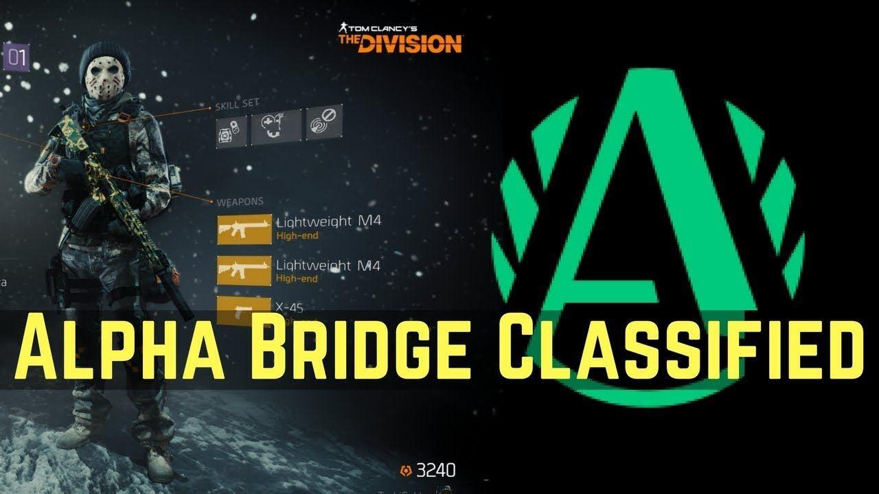 division alpha bridge