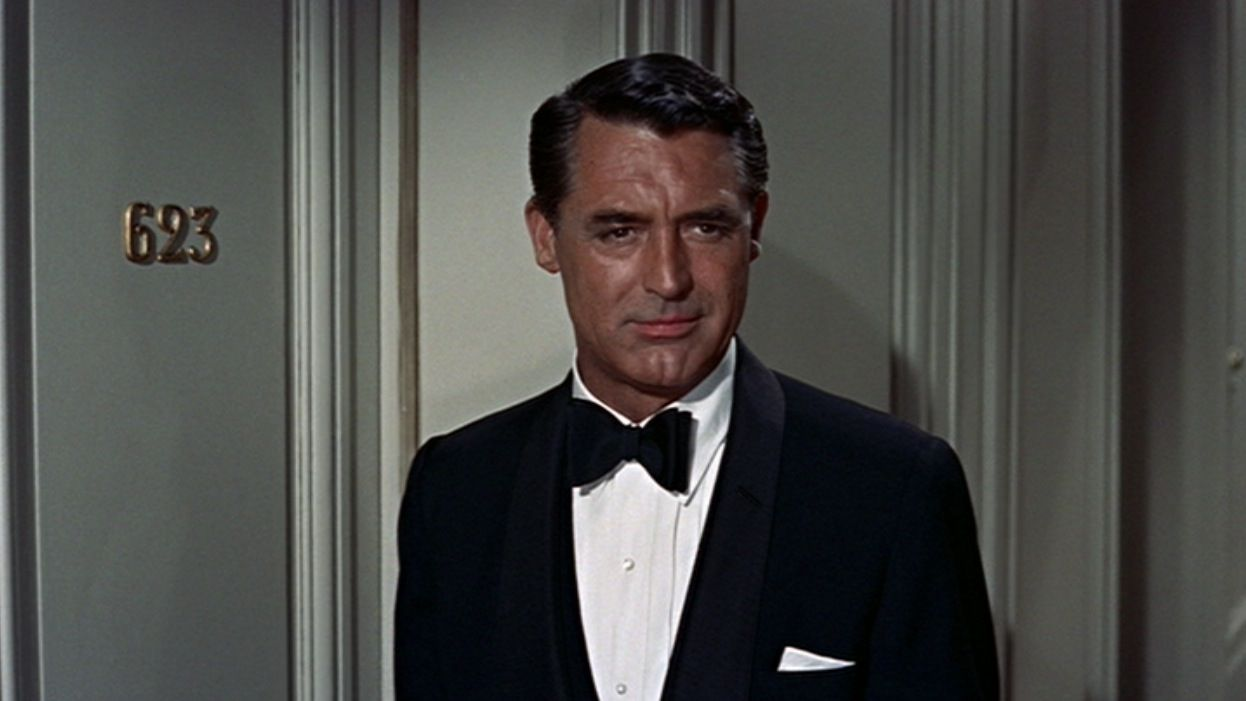 Cary Grant's Black Tie in To Catch a Thief | BAMF Style