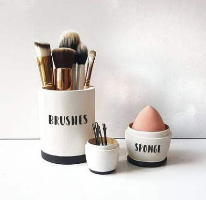52 super ideas makeup brushes holder ceramic makeup