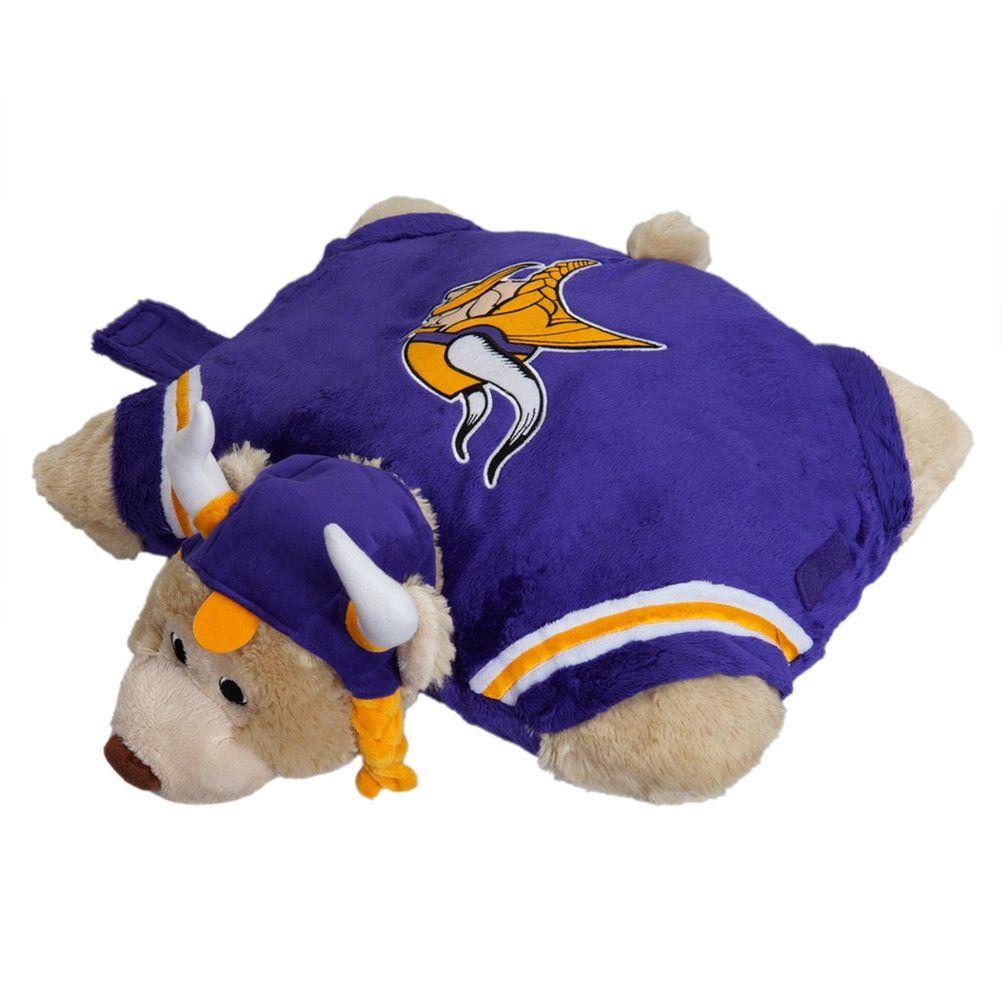 Amazon Com Nfl Minnesota Vikings Pillow Pet Childrens Plush