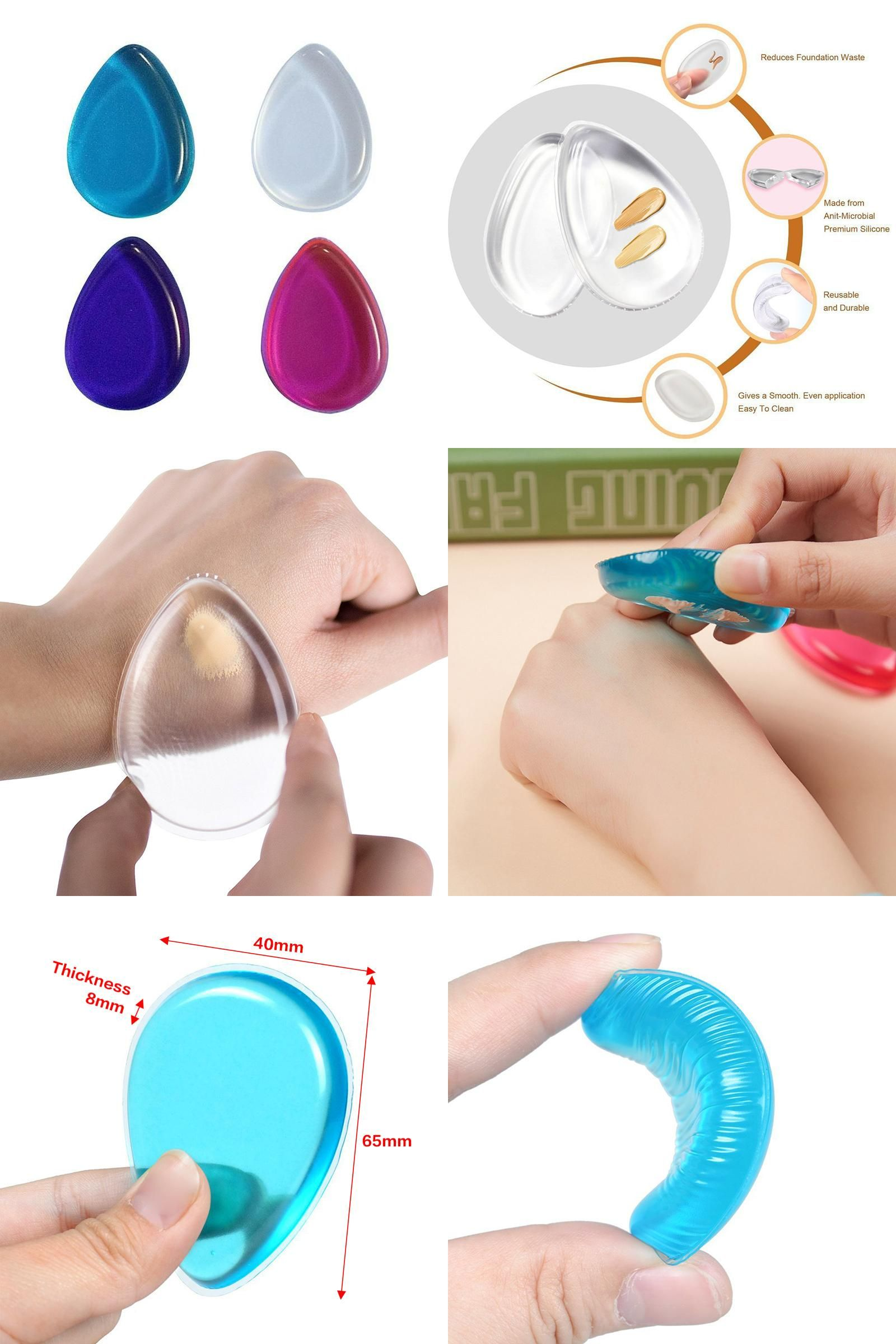 [Visit to Buy] New Silicone sponge water dropshaped