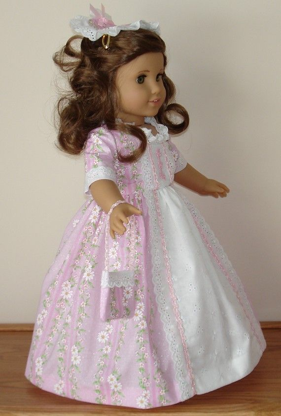 Colonial Ball Gown created for American by MargaretteDesigns4AG ...