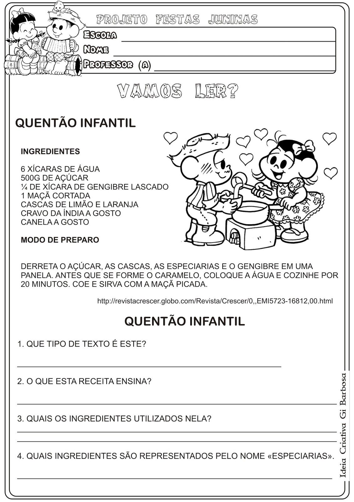Favoritos Lipitipi- Atividades e Projetos Fundamental I: Atividade Festas  UF62