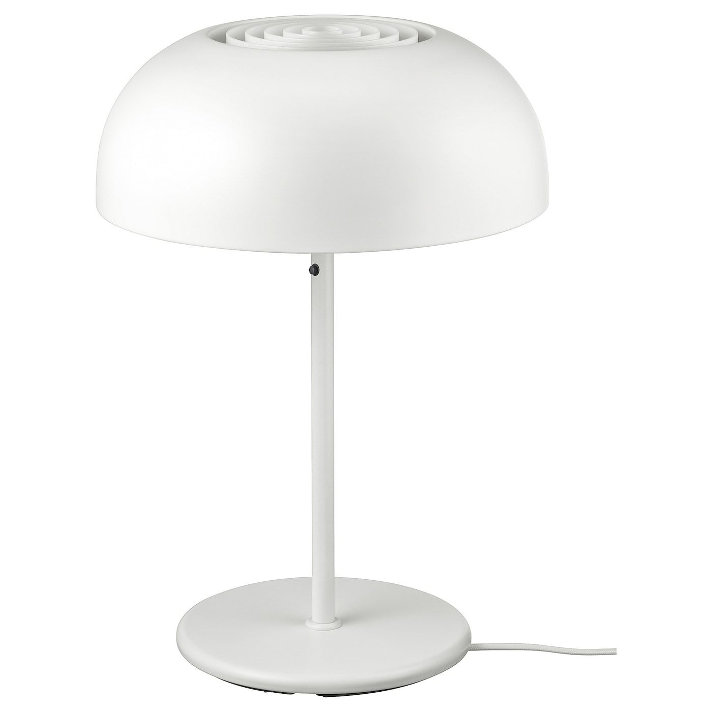 Nymane White Table Lamp Ikea In 2020 Table Lamp Lamp White Table Lamp