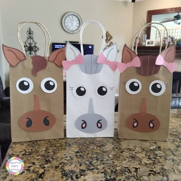 Cowgirl Favor Bags Cowgirl Birthday Cowgirl Party Supplies Cowgirl Goodie Bags Cowgirl Birthday Invitations Favors Cowgirl Goody Bags Horse Birthday Invitations Horse Party Favors Horse Birthday Parties