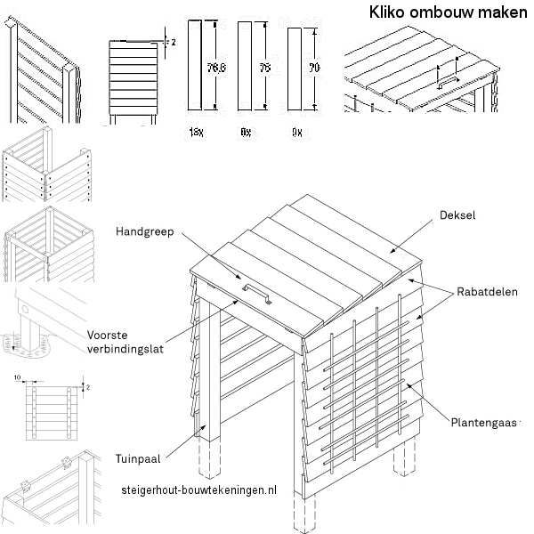 Gebruik Steigerhout Of Pallets Voor Een Kliko Kast Voor
