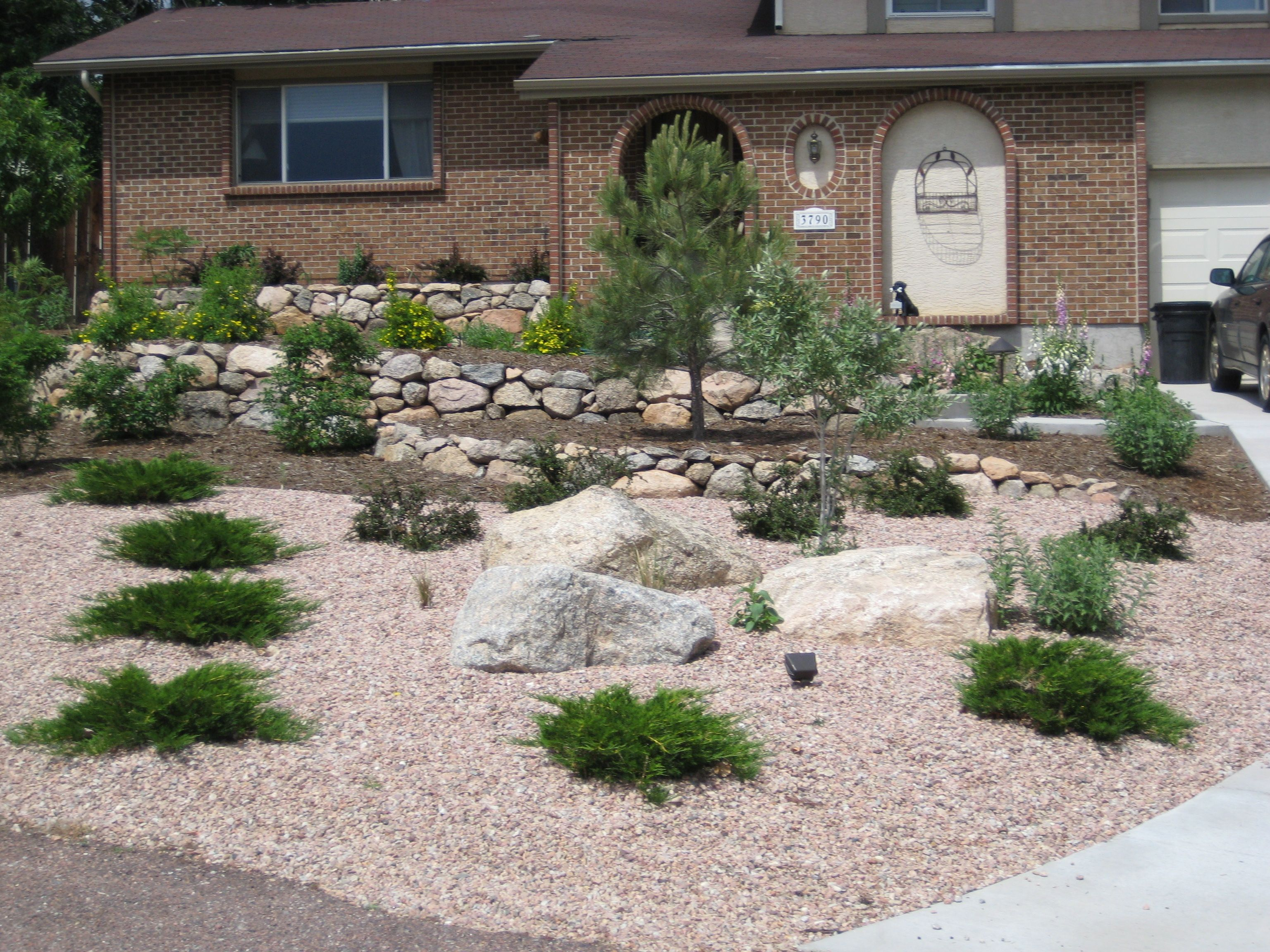 Colorado Landscape Front Yard Front Yard Landscaping