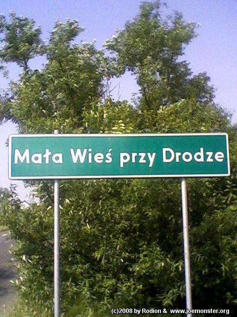 Najdziwniejsze nazwy miejscowości w Polsce - Joe Monster
