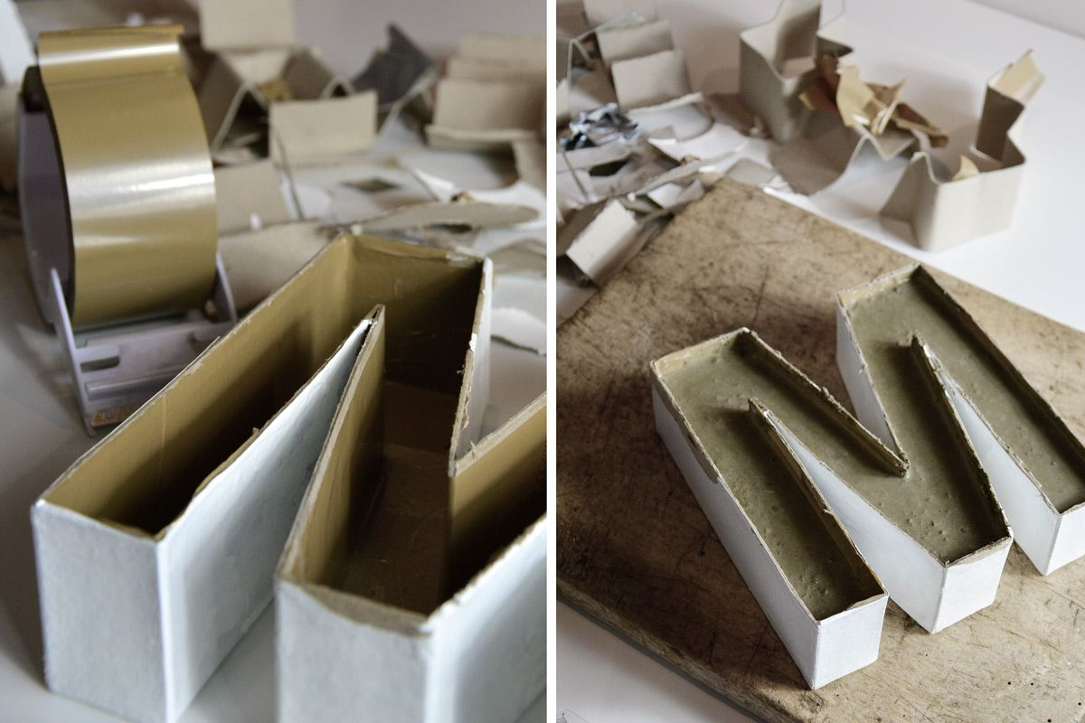 beton buchstabe anleitung2 beton pinterest ideer. Black Bedroom Furniture Sets. Home Design Ideas