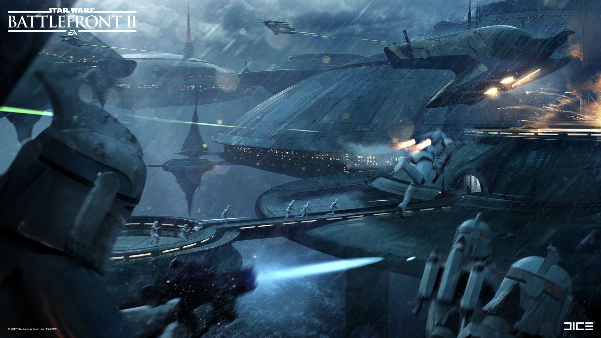 Battlefront 2 Early Concept Exploration Kamino By Anton