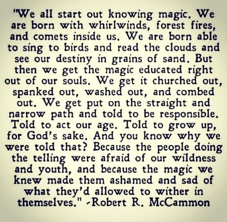 Blessed Are The Weird People This Quote From Mccammons Boys