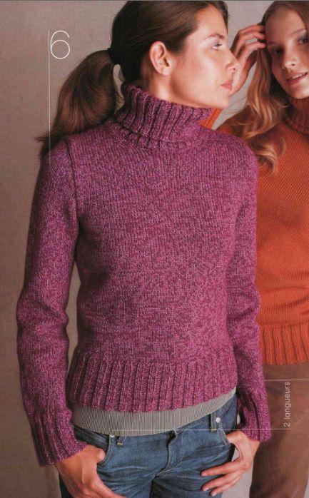 Femme Laine Pull Cachemire Vêtements Rebecca 7 3 Et Long Col