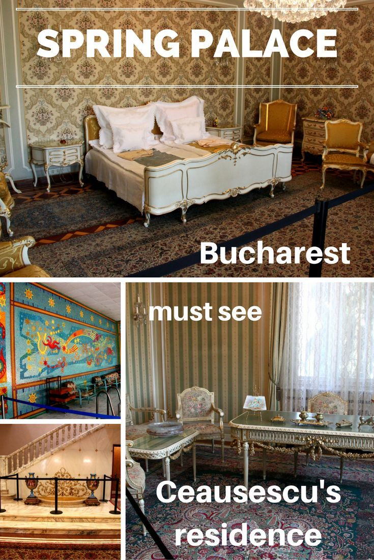 The Spring Palace In Bucharest Is One Of The Best Places To Visit In Bucharest Ceausescu S Residence Is A New Landmark In Bucharest And You Should Include It O Met Afbeeldingen