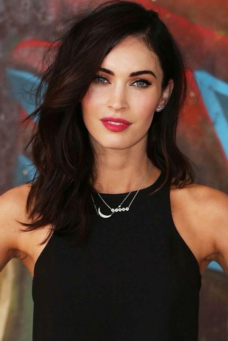 Megan Fox Short Hair Hair Styles Long Hair Styles Medium Hair Styles