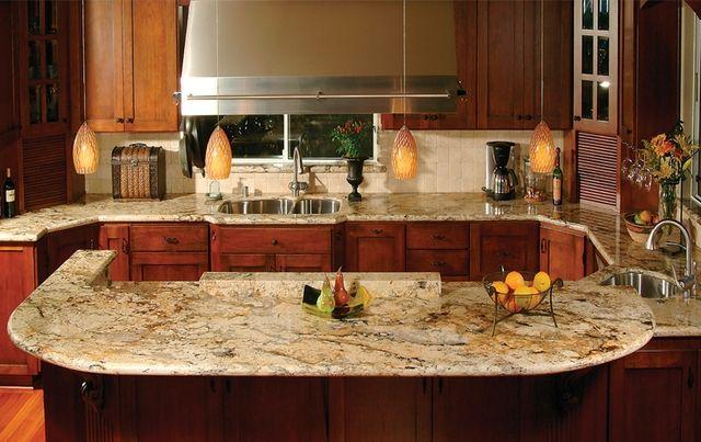 Delicatus Gold Granite Countertops Kitchen Countertops Granite