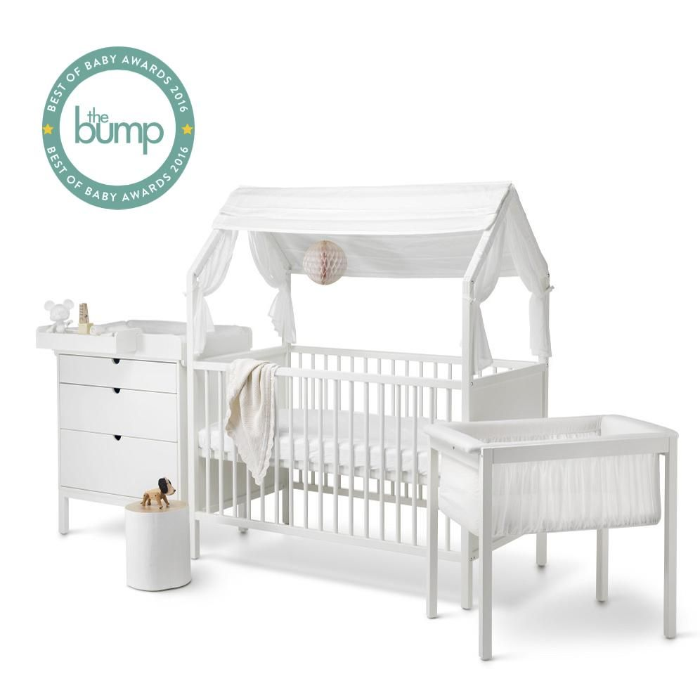 Most recommended crib for babies - Stokke Home Crib Wins Best Of Baby 2016 Best Crib Award From