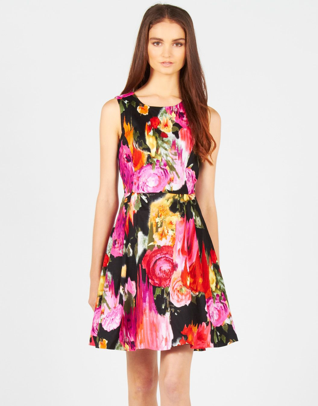 Glassons - Fitted Bodice Floral Print Dress ($40.00 ...