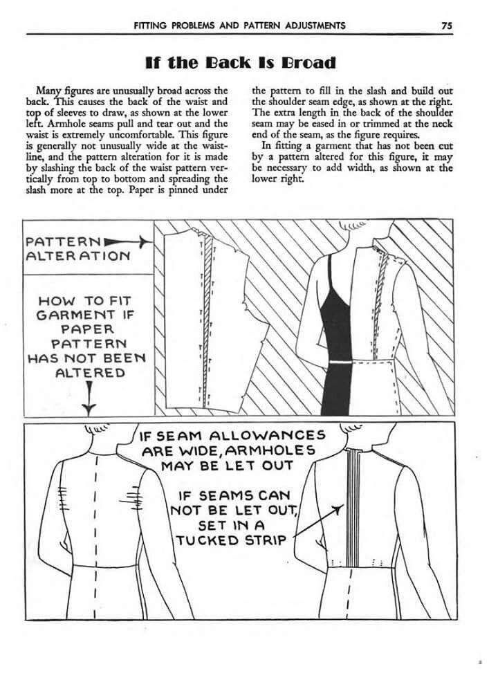 Brede rug   เพทเทริน์   Pinterest   Costura patrón, Patrones y Costura