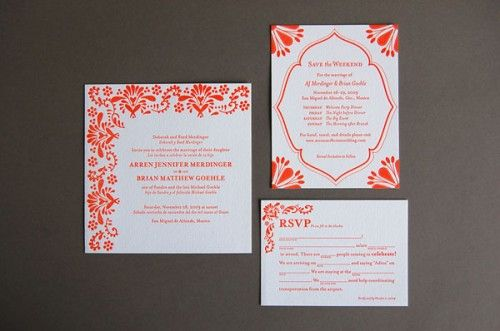 1x1.trans Wedding Invitations   Pistachio Press