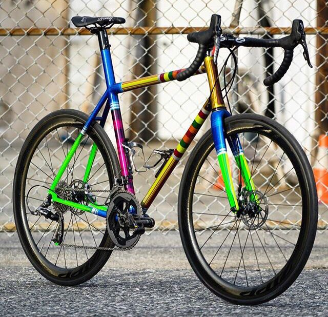 Chromag gravel painted by Troy Lee