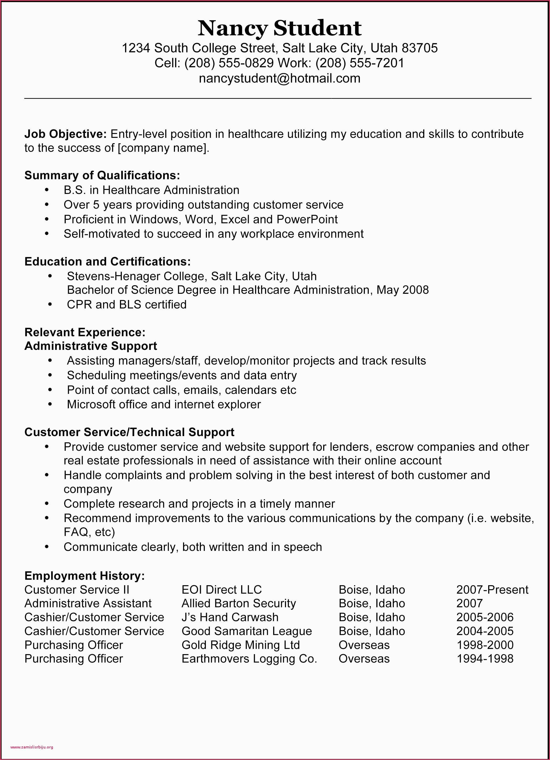 26 Medical Assistant Cover Letter Examples Sample Resume Templates Resume Objective Examples Resume Template Examples