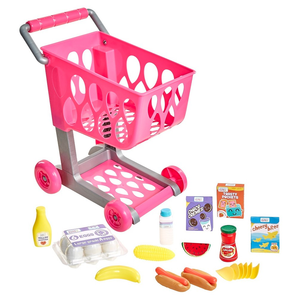 Honestly Cute Shop & Go Grocery Cart