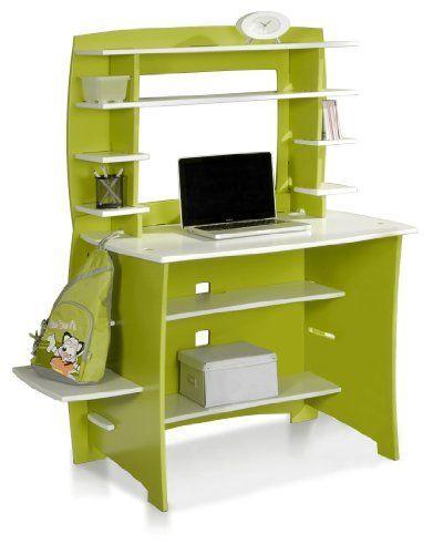 Legare Furniture 36 Desk + Hutch + Side Shelf Legaré 36 Multi Pack Desk  System Includes A 36 Straight Desk, 36 Straight Hutch And 17 CPU Accessory  Shelf In ...