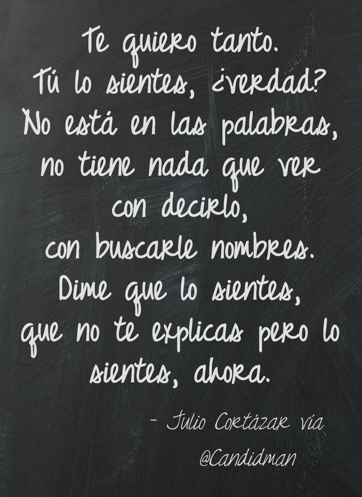 Te Quiero Tanto! :) | amor | Imagination quotes, Love ...