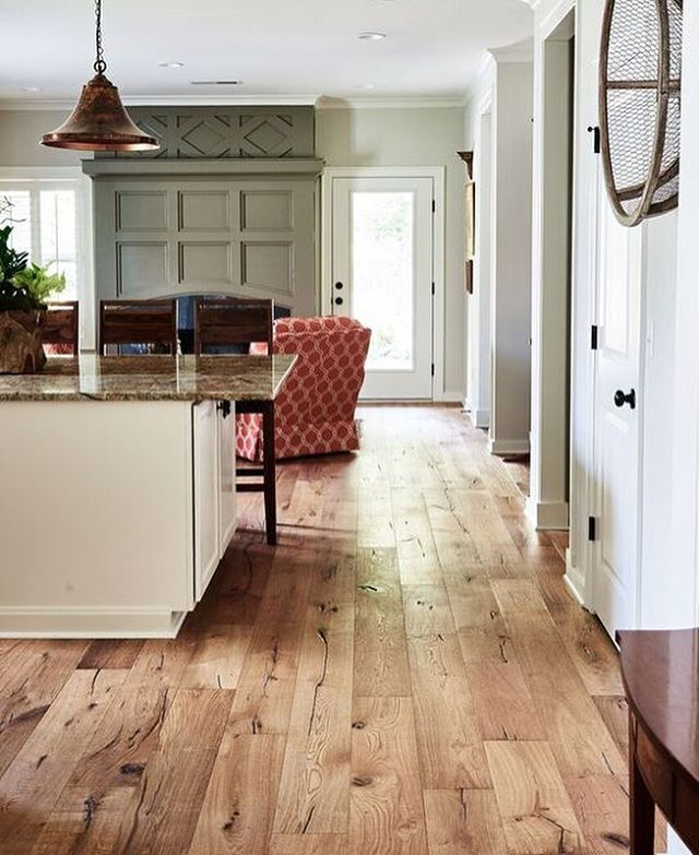 The Originality Of Each Hardwood Plank Brings Warmth And Interest To