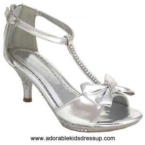 41++ Little girls silver dress shoes info
