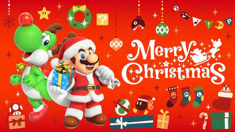 Nintendo Christmas Nintendo Nintendoswitch Nintendoswitchgames Videogames Gaming Themariostars Yoshi Supermario Mario Sant Yoshi Nintendo Super Mario