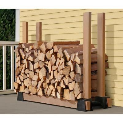 Shelterlogic Lumberrack 2 Way Adjustable Firewood Bracket Kit With