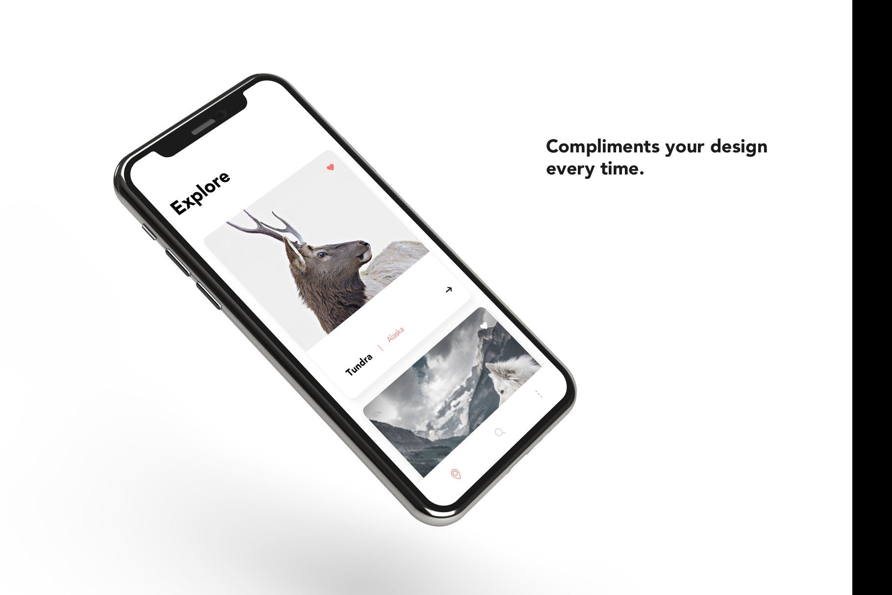 Iphone X Mockup Color Series Colorful Backgrounds Iphone Colour Tint