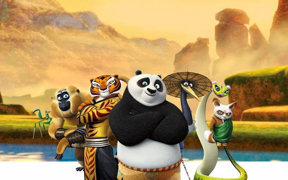 detail kung fu panda