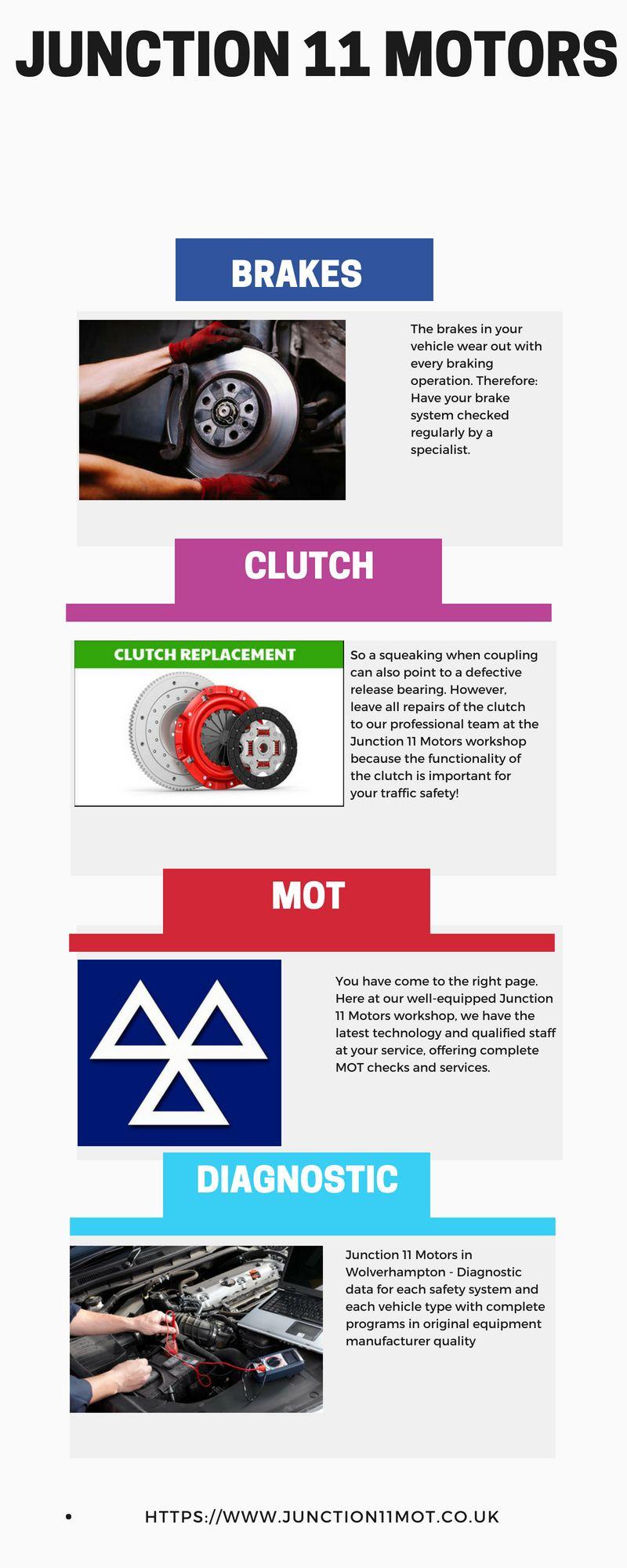 Junction 11 motors offering low cost brakes repair