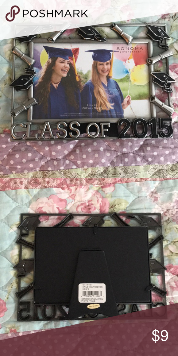 Class Of 2015 Picture Frame Brand New Nwt My Posh Closet Closet