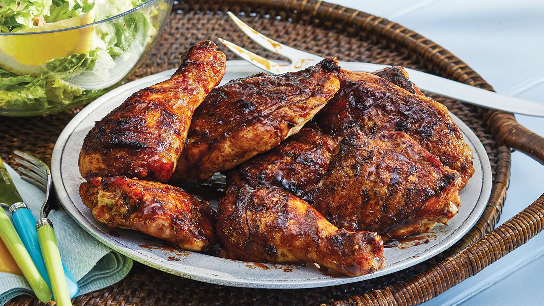 Jamaican Style Bbq Chicken Sobeys Inc Recipe Bbq Chicken Recipes Top Chicken Recipes Bbq Recipes