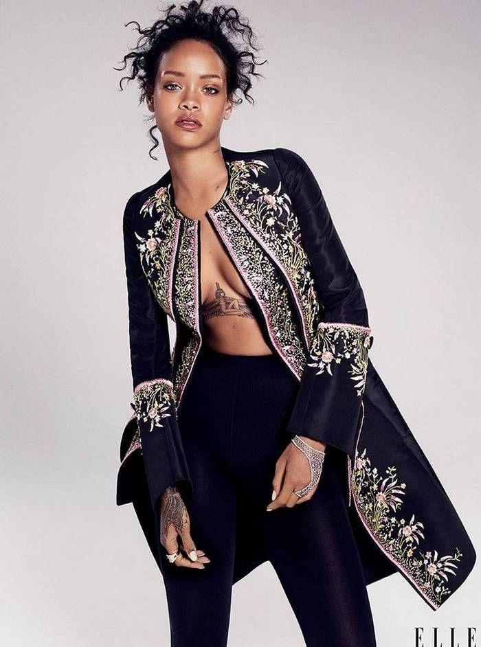 Rihanna for Elle US, December 2014 | Стиль рианны ...
