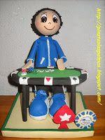 PIÑATAS  LAS PALMAS: Jugador de Poker