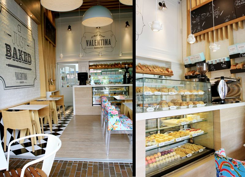 Valentina Bakery Interior design on Behance PASTELARIA