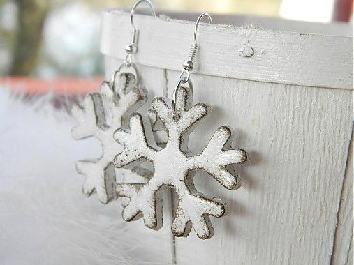 Zimné nežnosti... by Bizu-Tina - SAShE.sk - Handmade Náušnice