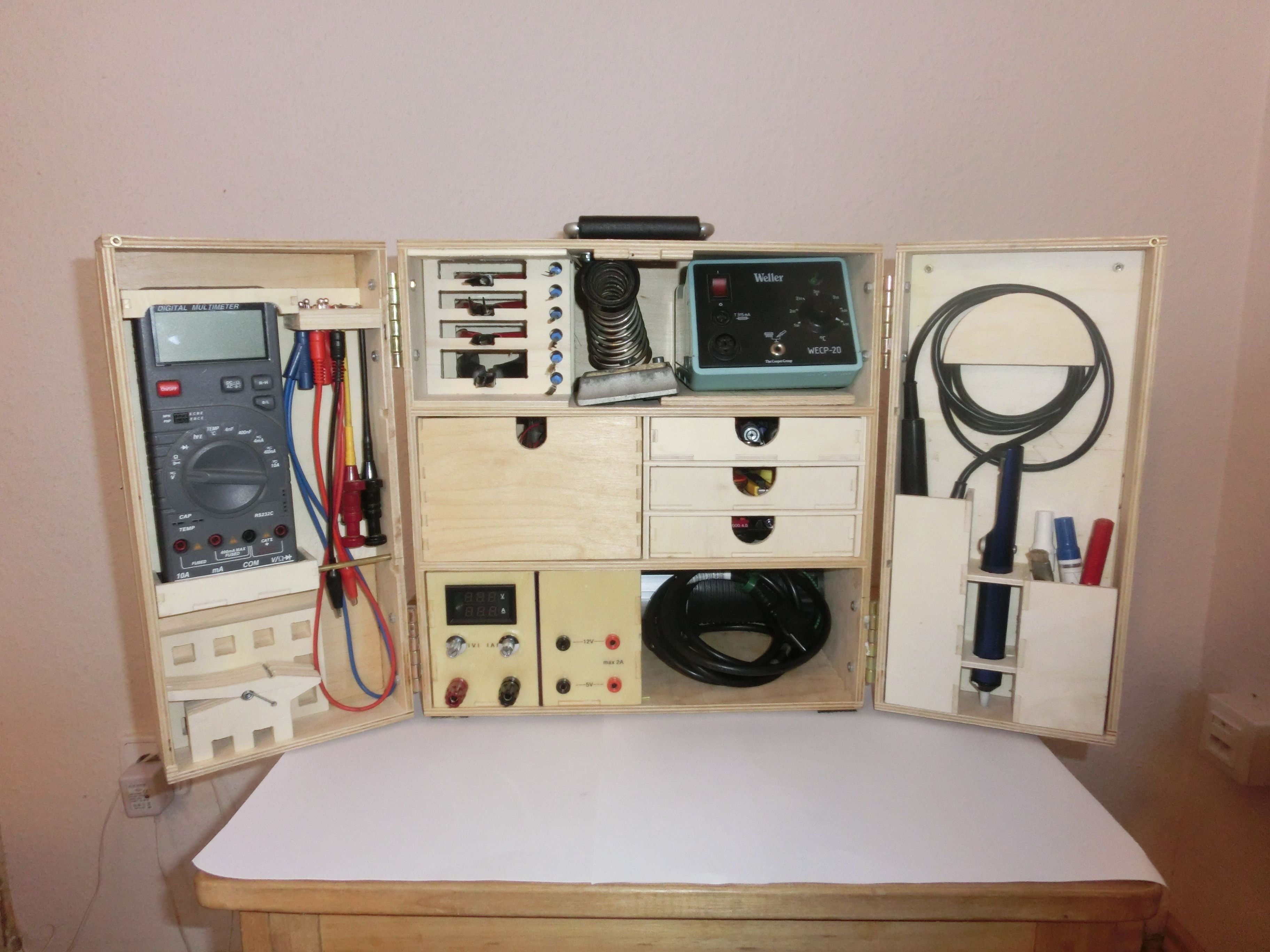 Since years I am thinking about to build a portable workbench ...