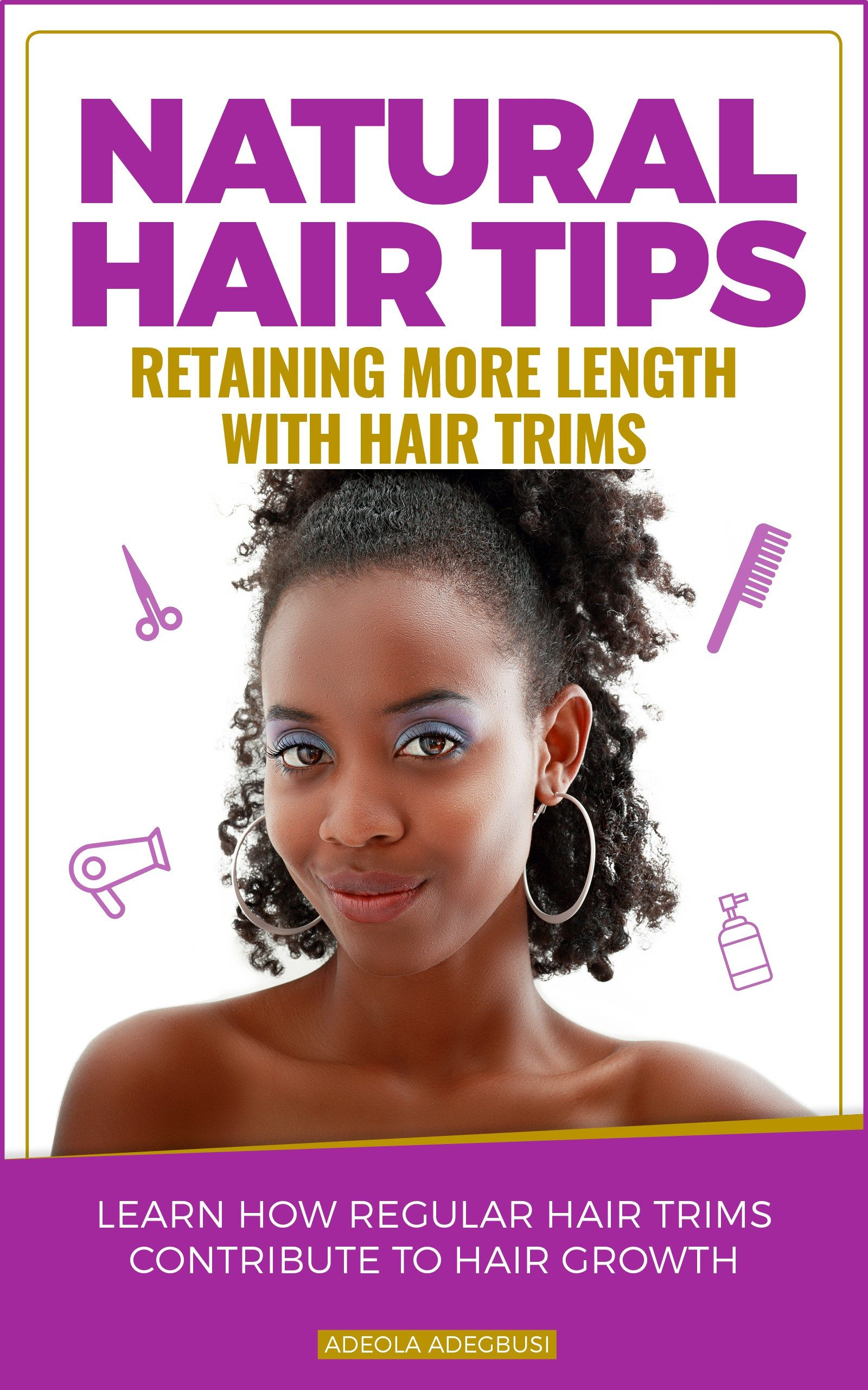 Guide natural hair trims for length retention au natural hair and