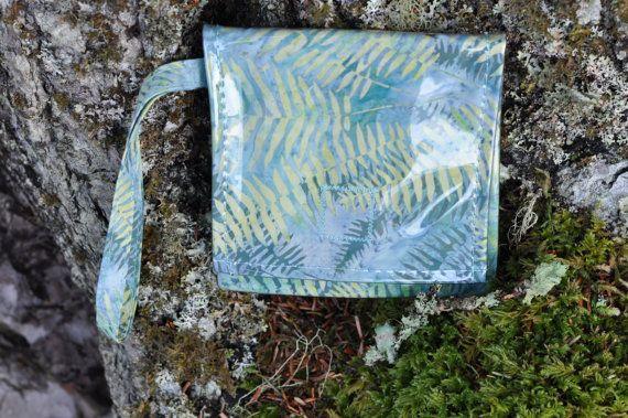 Fog Mermaid Pouch Waterproof Pouch by saltydesignsalaska on Etsy, $24.00