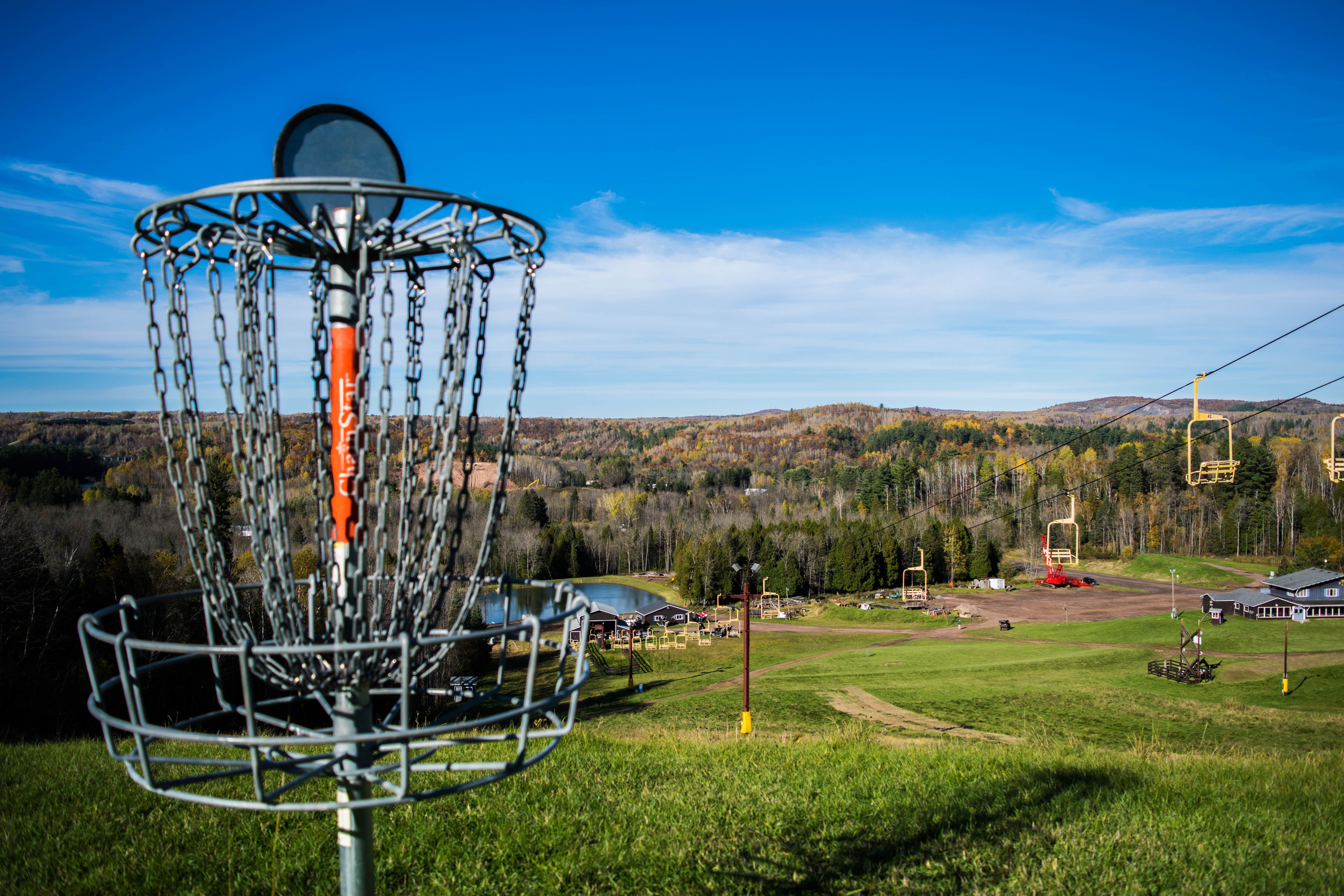 MontduLac has the most scenic disc golf course that you ll ever play