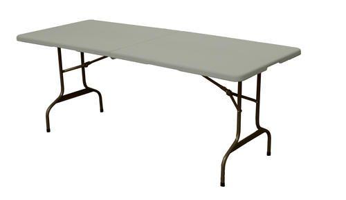 Standard 6 Fold In Half Table From Menards 40 Http Www Menards Com Main Home Decor Furniture Tables 6 Ft Long Rectangula Grey Table Table Table Furniture