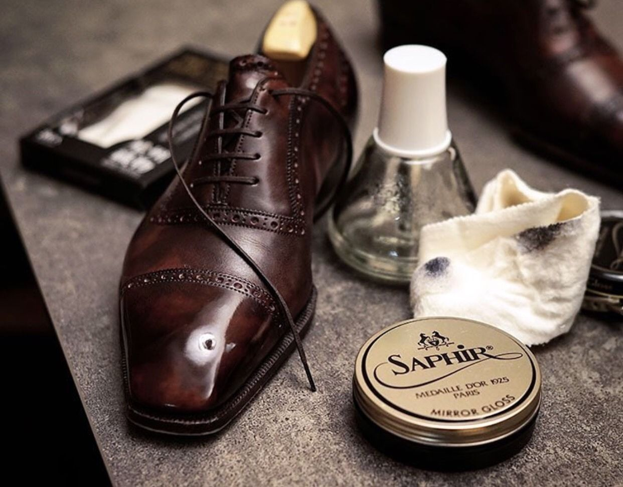 Cleverly gentleman shoes handmade leather shoes