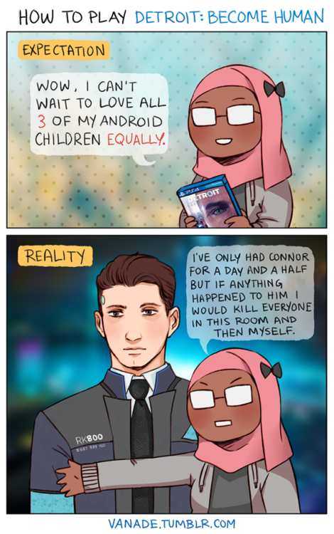 Image result for connor detroit become human fanart tumblr