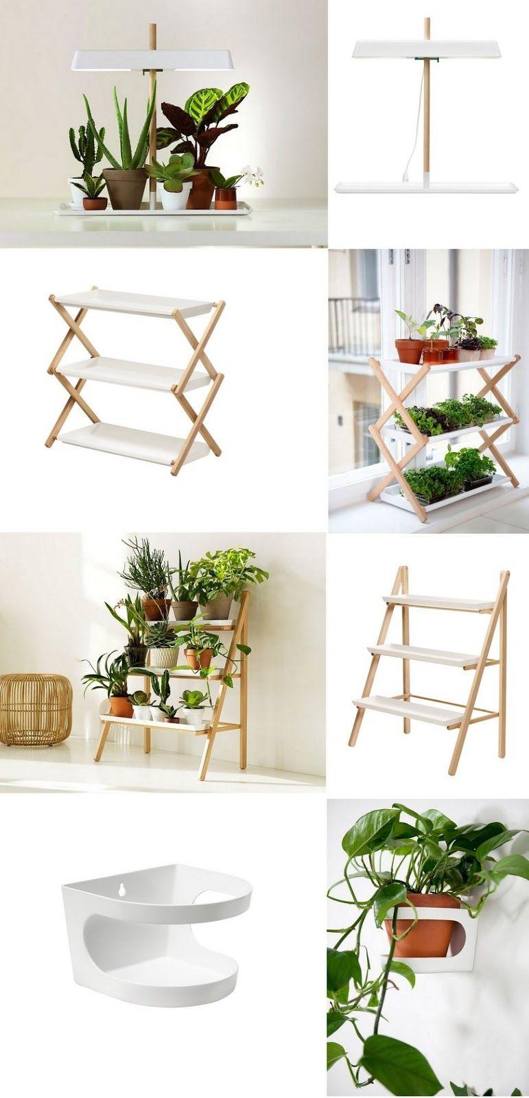 inspiration pour une tag re plantes diy meubles pinterest jardins plante jardin et. Black Bedroom Furniture Sets. Home Design Ideas