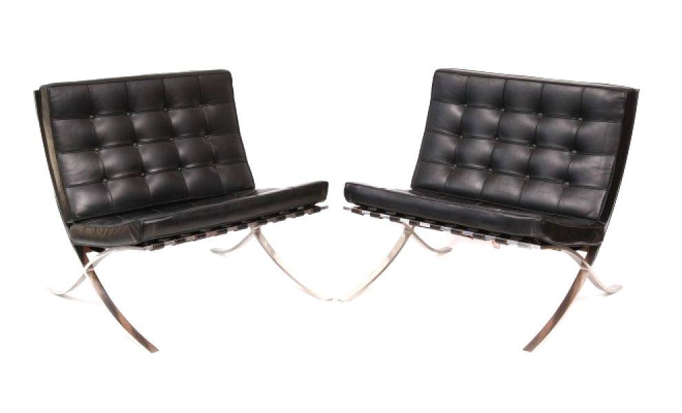Mies van der Rohe Barcelona chairs - Firefly House